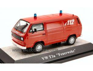 Premium Classixx PREM11406 VW T 3 A FEUERWEHR 1:43 Modellino