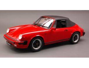 Premium Classixx PREM10250 PORSCHE 911 CARRERA 3.2 CABRIO RED 1:12 Modellino