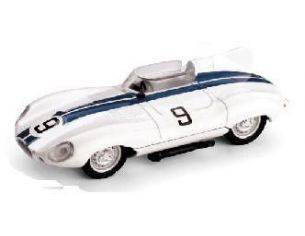 Brumm BM0130 JAGUAR D TYPE N.9 DNF LM 1955 SPEAR-WALTERS 1:43 Modellino