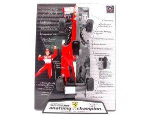 Hot Wheels L6234 FERRARI M.SCHUMACHER'06 ANATOMY 1:18 Modellino