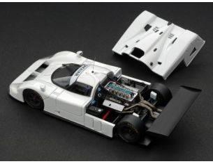 Hpi Racing HPI0995 JAGUAR XJR 9 PLAIN COLOR WHITE 1:43 Modellino