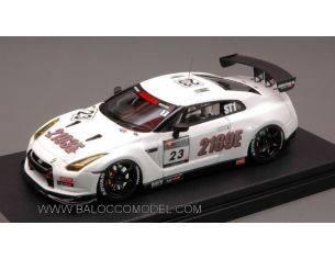 Hpi Racing HPI8492 NISSAN NISMO GT-R N.23 S.TEC'10 1:43 Modellino
