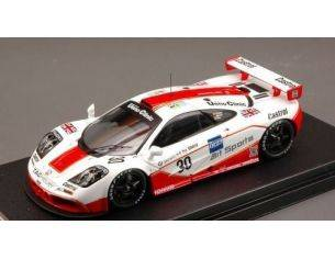 Hpi Racing HPI8262 MC LAREN F1 GTR N.30 4th LE MANS 1996 1:43 Modellino