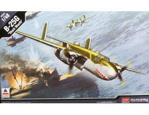 Accademy ACD12290 B-25G SHARK MOUTH KIT 1:48 Modellino