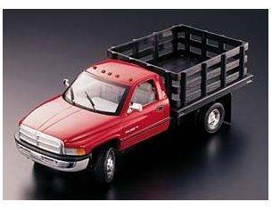 Anson AS0382 DODGE RAM 3500 RED C/PARATIE 1:18 Modellino