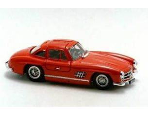 Bang BG7088 MERCEDES 300 SL GULLWING STREET 1954 RED 1:43 Modellino