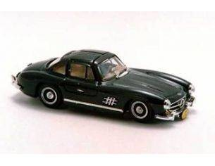 Bang BG7090 MERCEDES 300 SL GULLWING 1954 BLACK 1:43 Modellino