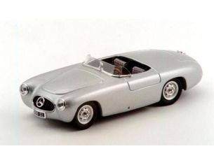 Bang BG7200 MERCEDES 300 SL SPIDER PRESENTATION 1952 TWO SEATER SILVER 1:43 Modellino