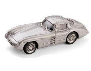 Brumm BM0187 MERCEDES 300 SLR COUPE' 1955 ARGENTO 1:43 Modellino