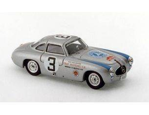 Bang BG7263 MERCEDES 300 SL COUPE' N.3 2nd CARRERA MEXICO 1952 LANG-GRUPP 1:43 Modellino