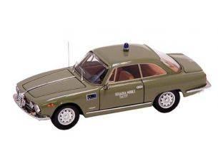 Bang BG7304 ALFA ROMEO 2000 SPRINT 1960 POLIZIA SQUADRA MOBILE 777 1:43 Modellino