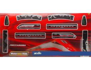 Cararama Motorama CA9738 TRENO FRECCIA ROSSA BATT.1:87 Modellino