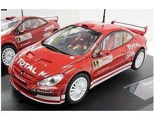 Cararama Motorama CAR25731 PEUGEOT 307 WRC 2004 SLOT 1:32 Modellino
