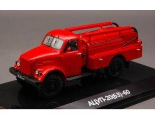 Dip Models DIP106302 ATSUP-20 (63)-60 FIRE ENGINE ON GAZ-63 CHASSIS 1:43 Modellino