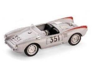 Brumm BM0195 PORSCHE 550 SPIDER N.351 6th MM 1954 HERRMANN-LINGE 1:43 Modellino