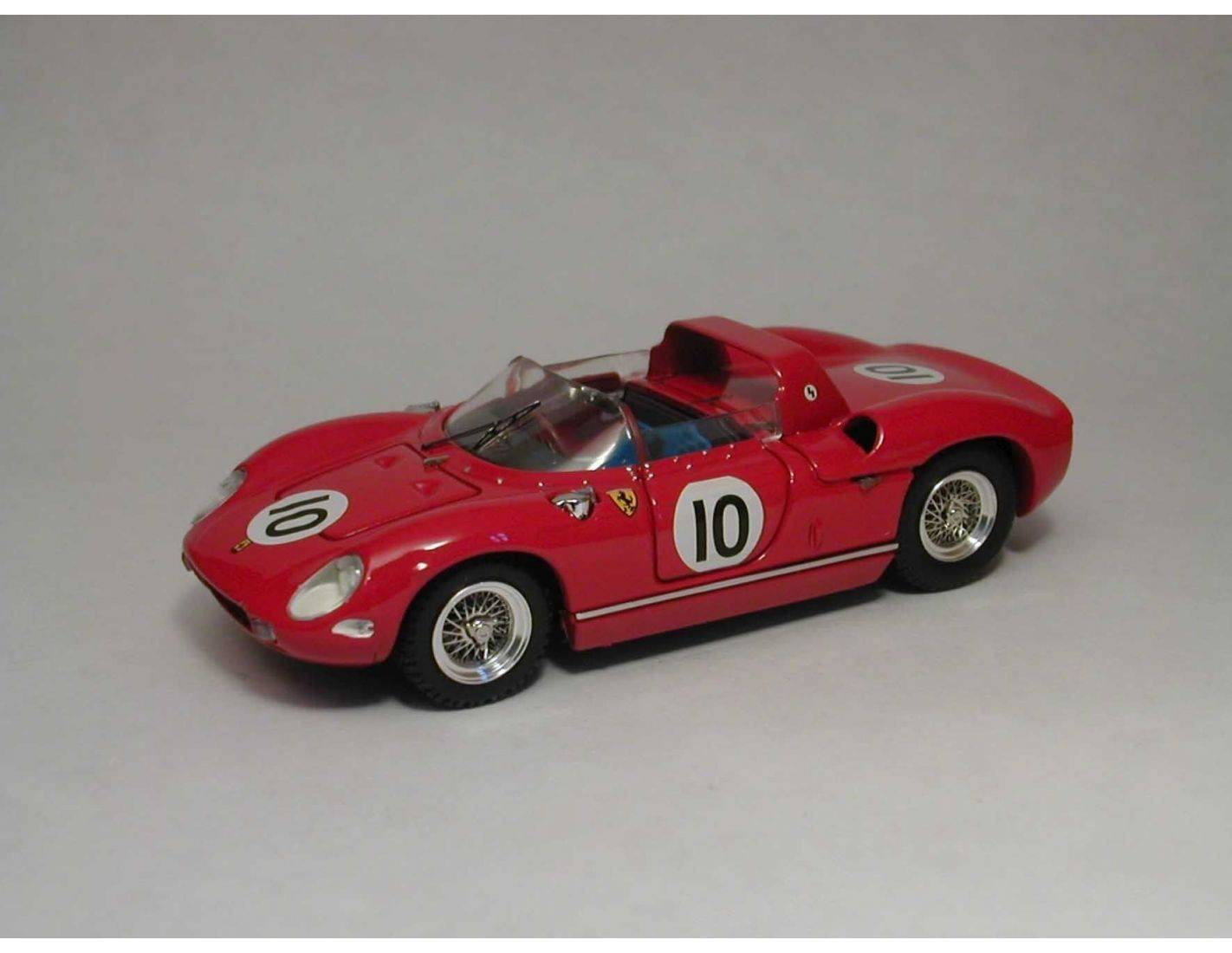 Art Model AM0122 FERRARI 250 P N.10 DNF GP REIMS 1963 M.PARKES 1:43 Modellino