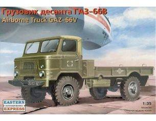 Eastern Express EE35133 CAMION GAZ 66-V AIRBORNE KIT 1:35 Modellino