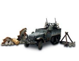 Forces of Valor UM81203 M 16 MULTIPLE GUN ARDENNE 1944 1:32 Modellino