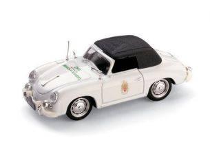 Brumm BM0198CC PORSCHE 356 CABRIOLET CLOSED POLIZIA PORTOGHESE 1952 1:43 Modellino