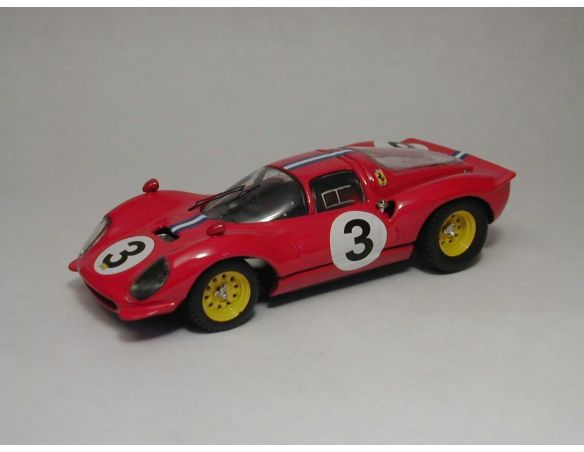 Art Model AM0123 FERRARI DINO 206 S N.3 DNF BRIDGEHAMPTON 1966 P.RODRIGUEZ 1:43 Modellino