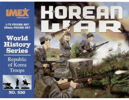 Imex IM0530 REPUBLIC OF KOREA TROOPS KIT 1:72 Modellino