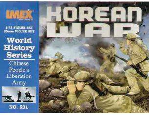 Imex IM0531 CHINESE PEOPLE'S LIBERATION ARMY KIT 1:72 Modellino