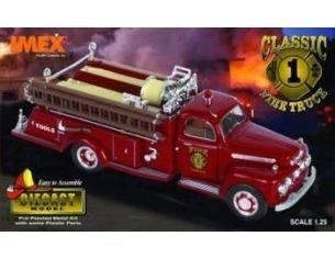 Imex IM1001 CAMION POMPIERI METALLO FIRE TRUCK 1952 KIT 1:25 Modellino