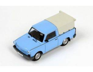 IST Models IST179A TRABANT 1.1 PICK UP CLOSED 1990 LIGHT BLUE 1:43 Modellino