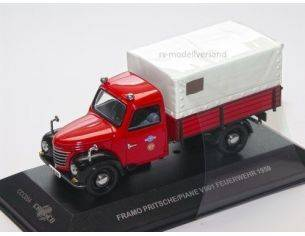 Ixo model CCC054 FRAMO PRITSCHE/PLANE V 901 VDF 1/43 Modellino