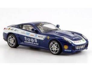 Ixo model FER074 FERRARI F599 GTB PANAM '06 BLUE 1/43 Modellino