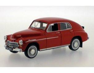 Ixo model IST063 WARSZAWA 201 1960 RED 1/43 Modellino