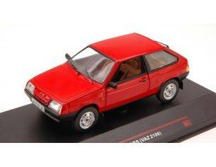 Ixo model IST096 LADA SAMARA 2 DOORS 1986 RED 1/43 Modellino
