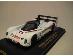 Ixo model LMC038 PEUGEOT 905 n.2 3RD LM '92 1/43 Modellino