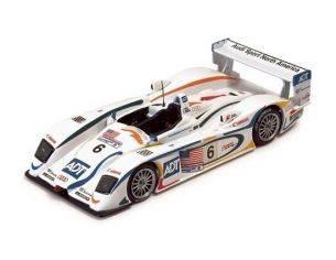 Ixo model LMM050 AUDI R8 LM 3RD RAC n.6 2003 1/43 Modellino