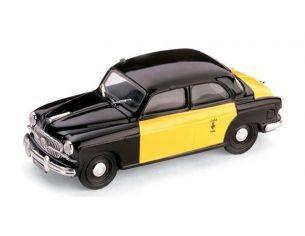 Brumm BM0216B FIAT 1400 B TAXI BARCELLONA 1956 1:43 Modellino