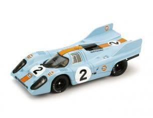 Brumm BM0221 PORSCHE 917 K N.2 GULF WINNER MONZA 1971 RODRIGUEZ-OLIVIER 1:43 Modellino