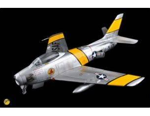 Merit Model ME60022 F-86 SABRE US AIR FORCE MONTATO E VERNICIATO 1:18 Modellino