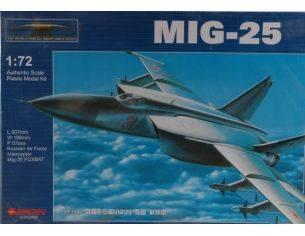 Modellino ZH3051 AEREO MIG 25 KIT 1:72 Modellino