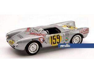 Brumm BM0235A PORSCHE 550 RS N.159 RETIR.CARRERA PANAMERICANA MEXICO 1953 K.KLING 1:43 Modellino