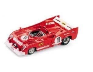 Brumm BM0239 ALFA ROMEO 33TT12 N.1T TEST CAR MONZA 1975 PESCAROLO-BELL 1:43 Modellino