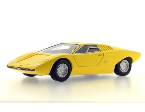 protar pr0182 lamborghini countach prototype 1971 yellow 1 43 auto stradali die cast models. Black Bedroom Furniture Sets. Home Design Ideas