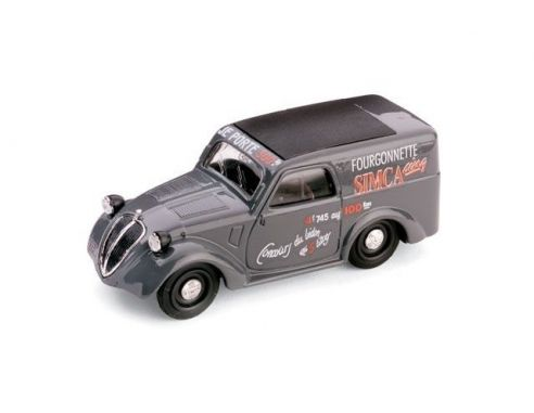 Brumm BM0244 SIMCA 5 FURGONCINO SALONE DELL'AUTO DI PARIGI 1936 1:43 Modellino
