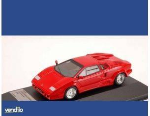 Protar PR0186 LAMBORGHINI COUNTACH 25th ANNIVERSARY 1989 RED 1:43 Modellino