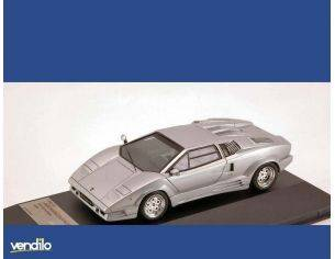 Protar PR0187 LAMBORGHINI COUNTACH 25th ANNIVERSARY 1989 SILVER 1:43 Modellino