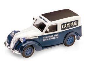 Brumm BM0245 FIAT 1100 E FURGONE CAMPARI 1952 1:43 Modellino