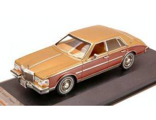 PremiumX PRD110 CADILLAC SEVILLE ELEGANTE 1980 2 TONES GOLD/BROWN 1:43 Modellino