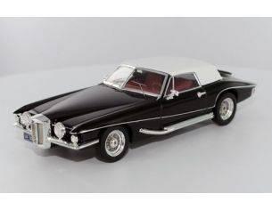 PremiumX PRD121 STUTZ BLACKHAWK CONVERTIBLE W/HARD TOP 1971 BLACK 1:43 Modellino