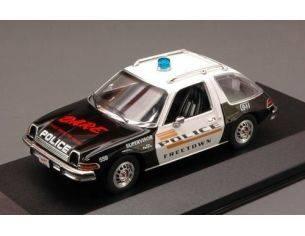 PremiumX PRD126 AMC PACER X FREETOWN DARE  POLICE 1975 1:43 Modellino