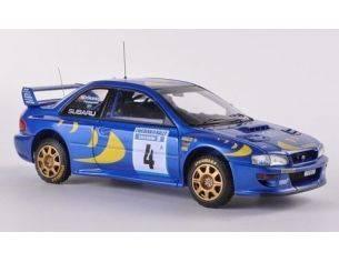 Hpi Racing HPI8575 SUBARU IMPREZA WRC N.4 WINNER SWEDISH 1997 ERIKSSON-PARMANDER 1:43 Modellino