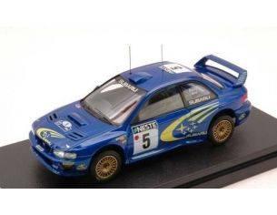 Hpi Racing HPI8580 SUBARU IMPREZA N.5 2nd FINLAND 1999 BURNS-REID 1:43 Modellino